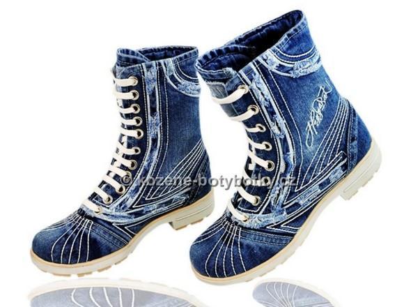 Riflove kotnikove boty