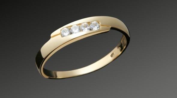Krásný prsten k výjimečné události