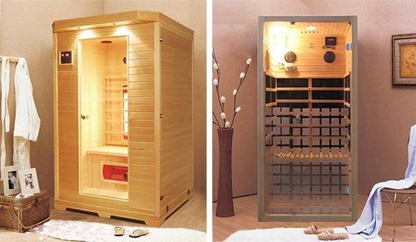 Moderní alternativa sauny - infrasauna