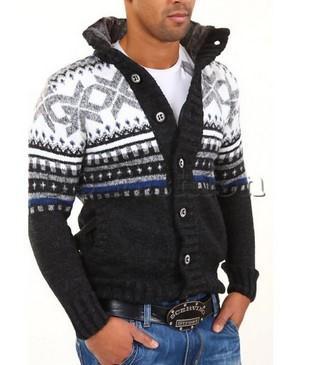 Slim fit kabáty mužům sluší  94e9390141