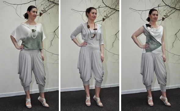 Šedé módní kalhoty pro každou příležitost