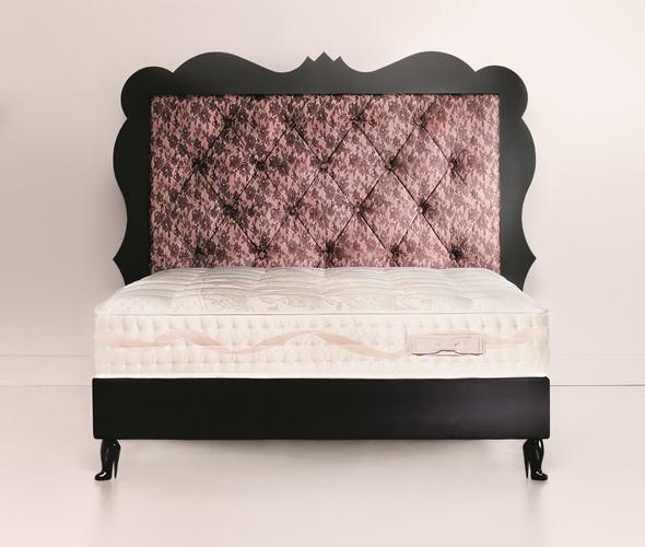 Luxusní vysoká postel ROMANCE