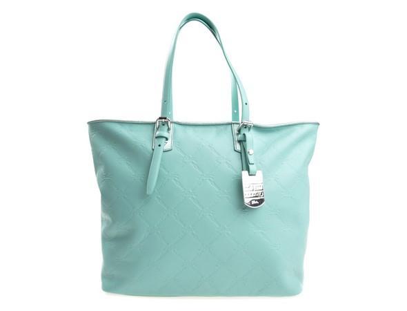 svetle modra kozena kabelka