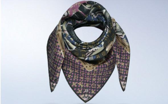 6b728998729 Hedvábná šála Louis Vuitton – společnice pro každou příležitost ...