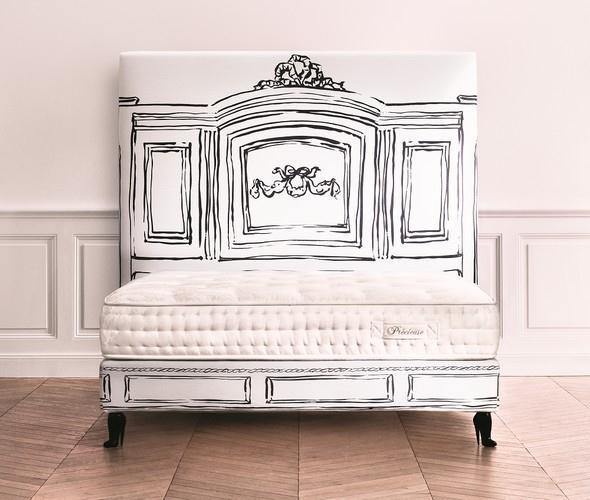 Luxusní vysoká postel REVERIE
