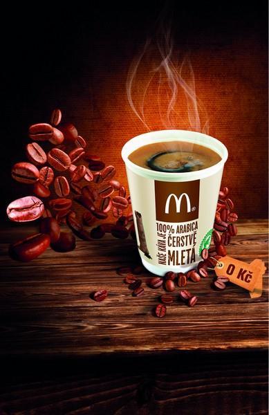 Káva za úsměv zdarma