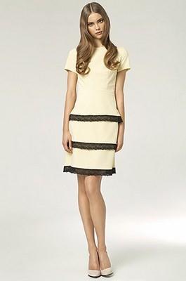 Dámské šaty NIFE žluté