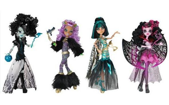 Oslavte Halloween s příšerkami Monster High