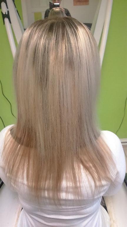 Vlasy se netřepí a jsou hydratované