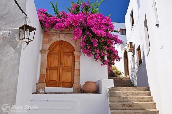 Typické řecké obydlí
