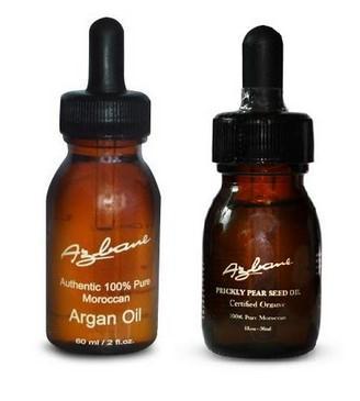 arganový a opunciový olej