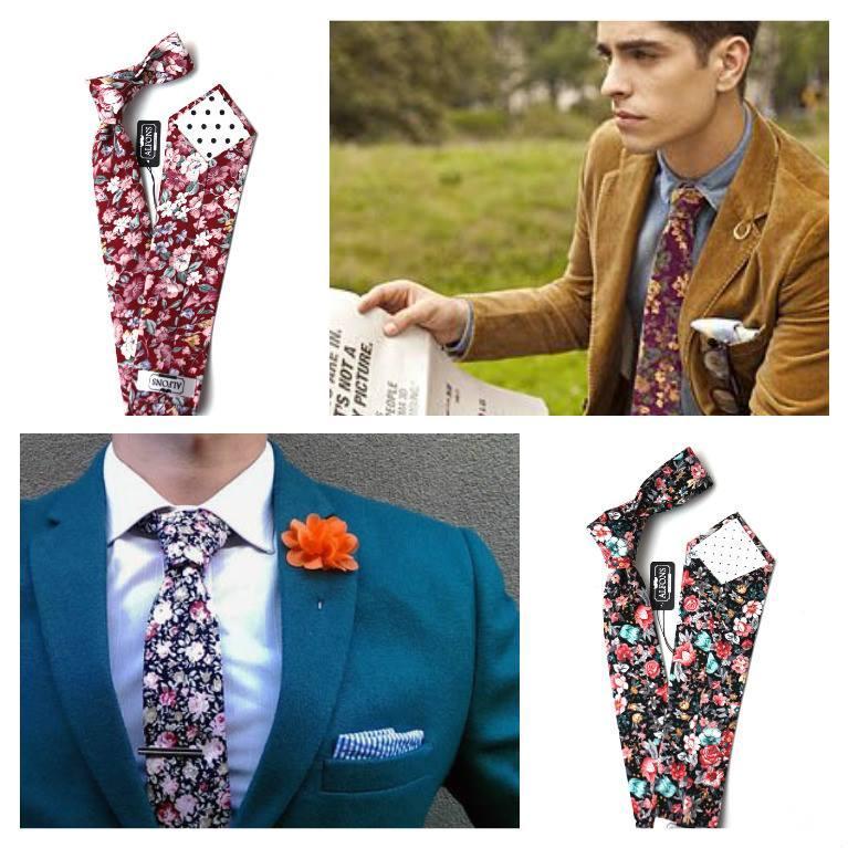 Květinová kravata