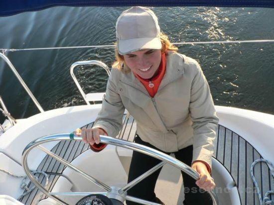 Plavba plachetnicí po Lipenské přehradě