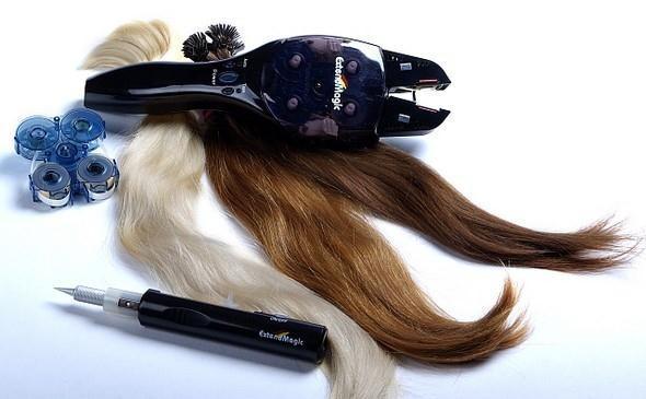 prodlužování a zahušťování vlasů metodou ExtendMagic