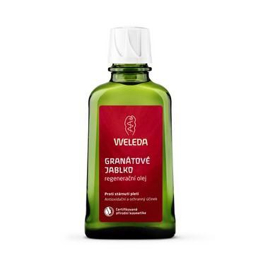 Regeneracni olej Granatove jablko obsahuje unikatni kombinaci ucinnych latek, ktere zabranuji starnuti pokozky a napomáhají jeji regeneraci.