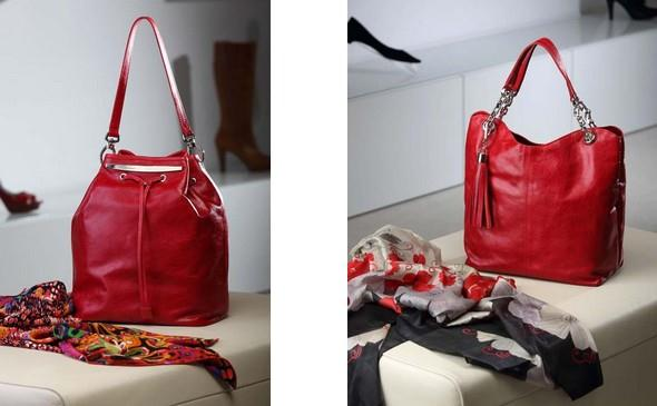 Originální červené kabelky Facebag