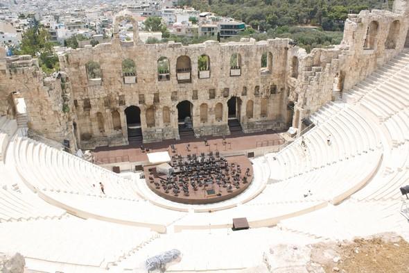 Athény dýchají historií