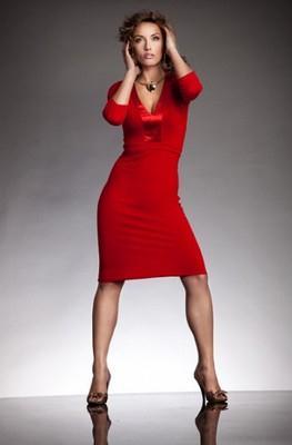 Dámské šaty NIFE červené